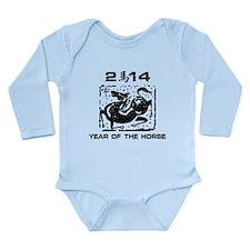 Year of The Zodiac Horse 2014 Long Sleeve Infant B