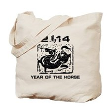Year of The Zodiac Horse 2014 Tote Bag