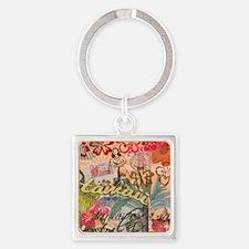 Vintage Hawaii Travel Colorful Hawaiian Keychains