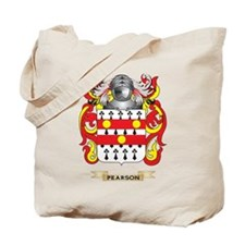 Pearson Coat of Arms (Family Crest) Tote Bag