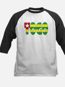 Word Art Flag of Togo Tee