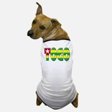 Word Art Flag of Togo Dog T-Shirt