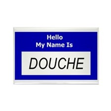 Douche Nametag Magnets