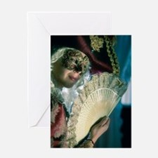 Renaissance Girl Greeting Cards