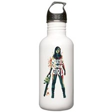 The Naked Zombie Girl Water Bottle