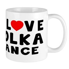 I Love Polka Mug