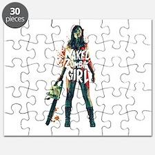 Naked Zombie Girl Puzzle
