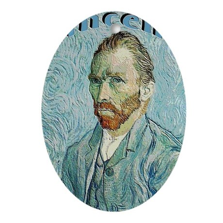 Vincent Oval Ornament