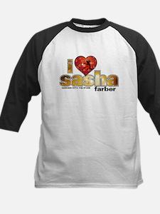 I Heart Sasha Farber Kids Baseball Jersey