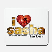 I Heart Sasha Farber Mousepad