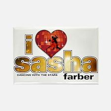I Heart Sasha Farber Rectangle Magnet