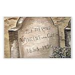 Vincent Rectangle Sticker