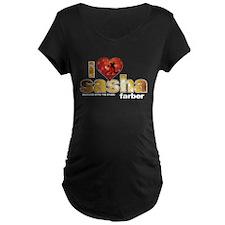 I Heart Sasha Farber Dark Maternity T-Shirt