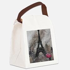 Industrial Paris Canvas Lunch Bag