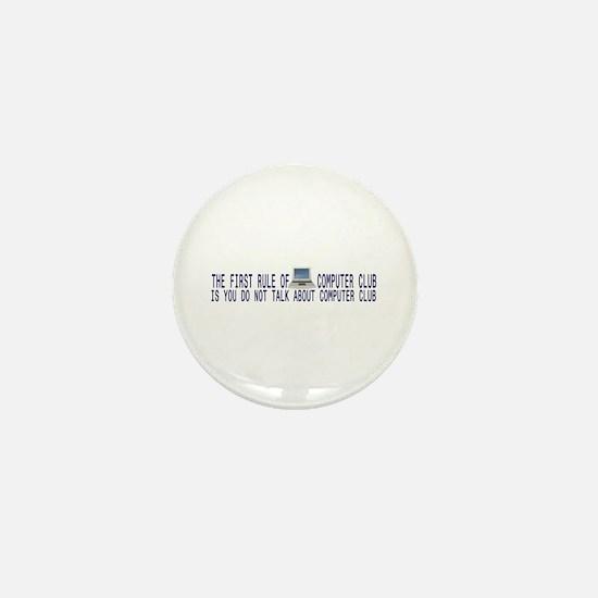 Computer Club Mini Button