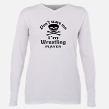 Purple 3D Jolly Roger Dog T-Shirt