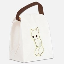 Obackeneko Canvas Lunch Bag