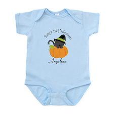 Personalized 1st Halloween Infant Bodysuit