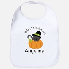 Personalized 1st Halloween Bib