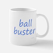 ball buster blue Mug