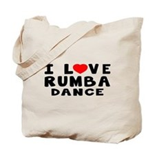 I Love Rumba Tote Bag