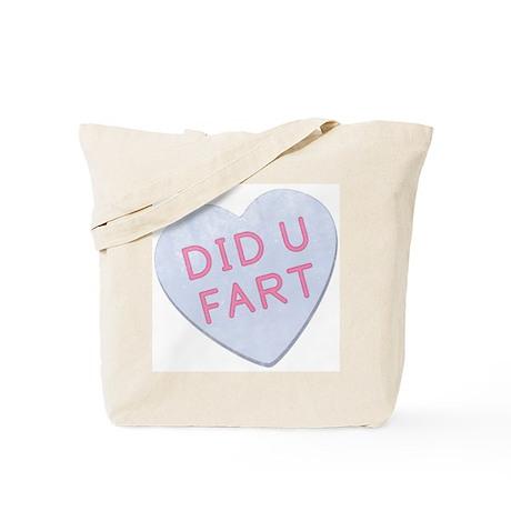 Did U Fart Anti Valentine Tote Bag