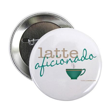 Latte Aficionado Button