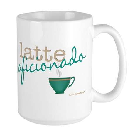 Latte Aficionado Large Mug