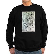 Dali-esque Pocketwatch Sweatshirt
