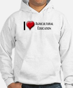 I Love (Heart) Agricultural E Hoodie
