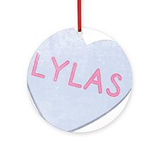 LYLAS Funny 80's Ornament (Round)