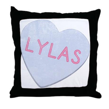 LYLAS Funny 80's Throw Pillow
