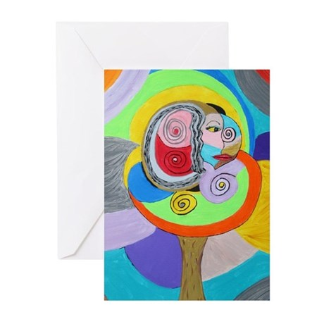 Soulful Tree Greeting Cards