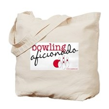 Bowling Aficionado Tote Bag
