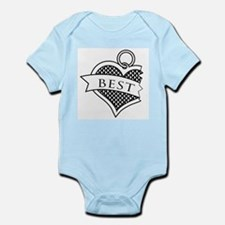 Best Buds Black (Best) Infant Bodysuit