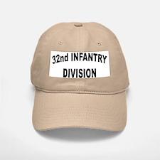 32ND INFANTRY DIVISION Baseball Baseball Cap