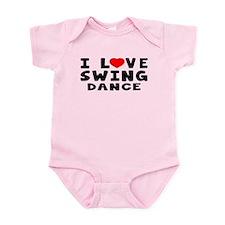 I Love Swing Infant Bodysuit