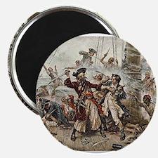 Blackbeard Pirate Magnets
