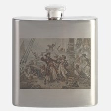 Blackbeard Pirate Flask