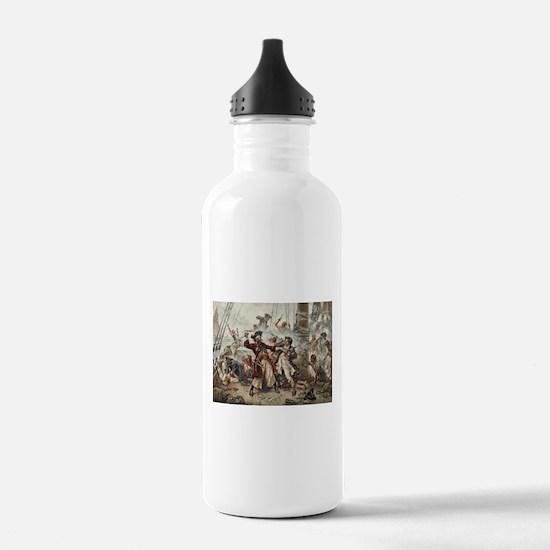 Blackbeard Pirate Water Bottle