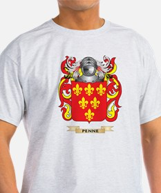 Penne Coat of Arms (Family Crest) T-Shirt
