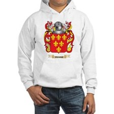 Penne Coat of Arms (Family Crest) Hoodie