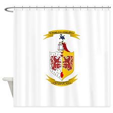 Cute Celtic flag Shower Curtain