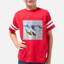 sleddingsqrnd Youth Football Shirt