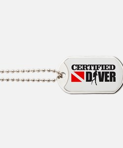 Certified Diver Dog Tags