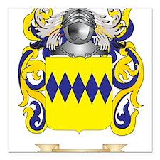 Pennington Coat of Arms (Family Crest) Square Car