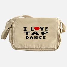 I Love Tap Messenger Bag