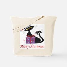 Meowy Christmouse! Tote Bag