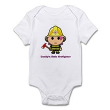 daddys firefighter Body Suit