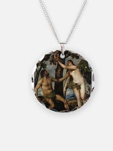 Adam and Eve Necklace